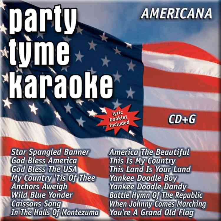AMERICANA BY PARTY TYME KARAOKE (CD)